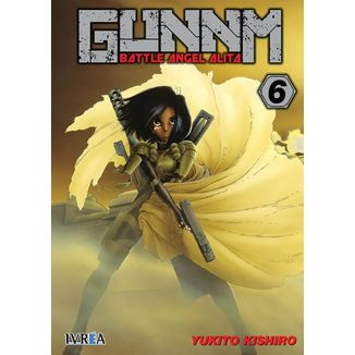 Gunnm (Battle Angel Alita) #06