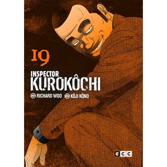 Inspector Kurokochi #19 (Spanish) Manga Oficial ECC Ediciones