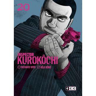 Inspector Kurokochi #20 Manga Oficial ECC Ediciones