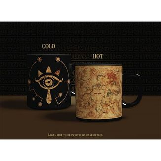 Taza térmica Sheikah The Legend of Zelda Breath of the Wild