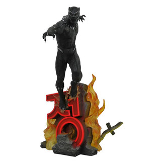 Estatua Black Panther Marvel Movie Premier Collection