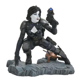 Estatua Domino Marvel Comic Premier Collection