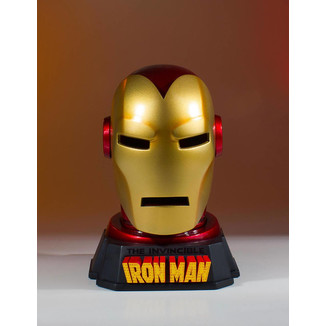 Réplica Busto Casco de Iron Man Marvel Comics