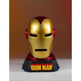 Réplica Busto Casco de Iron Man Marvel Comics