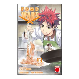 Food Wars Shokugeki no Soma #13