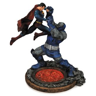 Estatua DC Comics Superman vs Darkseid 2nd Edición