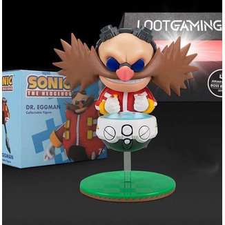 Figure Dr Eggman Lootcrate Exclusive Sonic