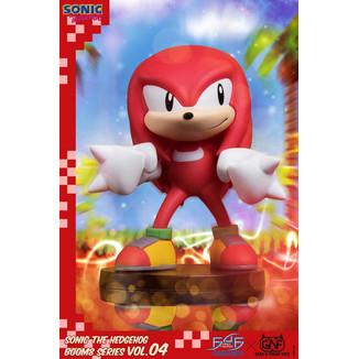 Figura Knuckles Boom8 Series Sonic The Hedgehog
