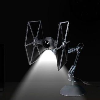 Flexo Tie Fighter Lamp