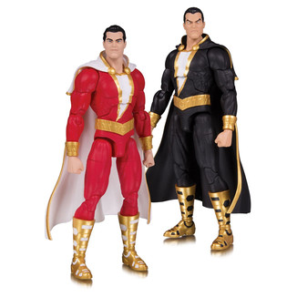 Set de figuras Shazam! & Black Adam DC Essentials DC Comics