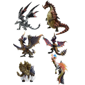 Set Minifiguras Monster Hunter CFB MH Standard Model Plus Vol. 8