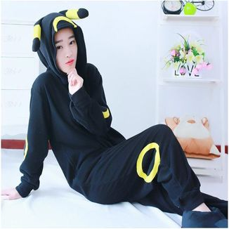 Kigurumi Pokemon - Umbreon tela de primavera