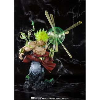 Figuarts Zero Super Saiyan Broly The Burning Battles Dragon Ball Super