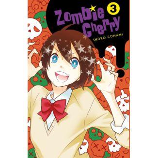 Zombie Cherry #03 Manga Oficial Fandogamia Editorial