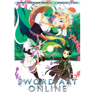 Sword Art Online Season 1 Part 2 DVD