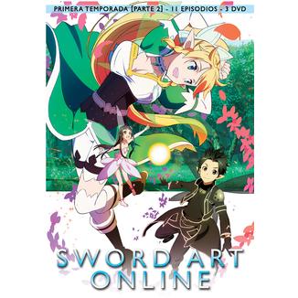 Sword Art Online Primera Temporada Parte 2 DVD