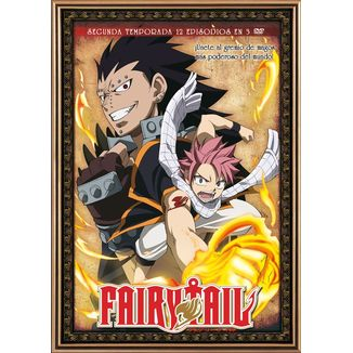 Fairy Tail Segunda Temporada DVD