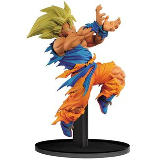 Figura Son Goku Super Saiyan Dragon Ball Z - BWFC