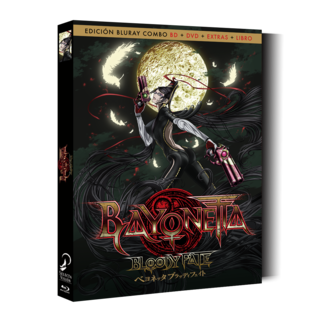 Bluray Bayonetta Bloody Fate Collector's Edition
