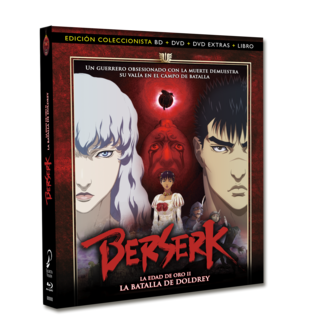 Berserk Golden Age Arc II - The Battle of Doldrey Collector's Edition Bluray