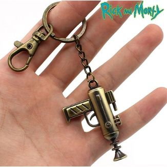Keychain Rick and Morty - gun
