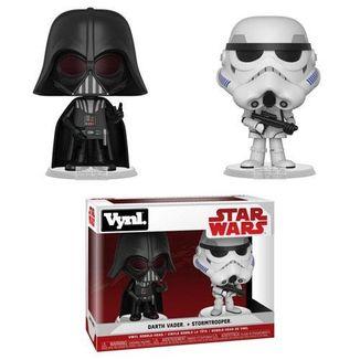 Set de figuras Darth Vader & Stormtrooper VYNL Star Wars