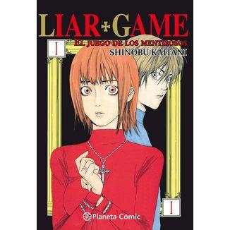 Liar Game El Juego De Los Mentirosos #01 Manga Oficial Planeta Comic (spanish)