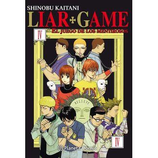 Liar Game El Juego De Los Mentirosos #04 Manga Oficial Planeta Comic