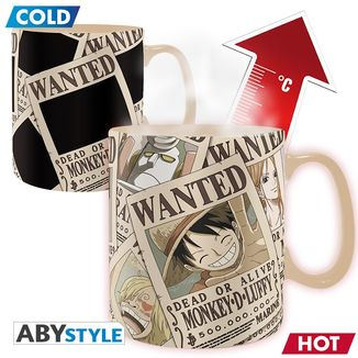 Heat Change Mug One Piece Wanted