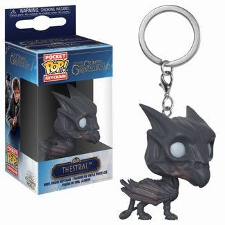 Thestral Keychain Fantastic Beasts POP!