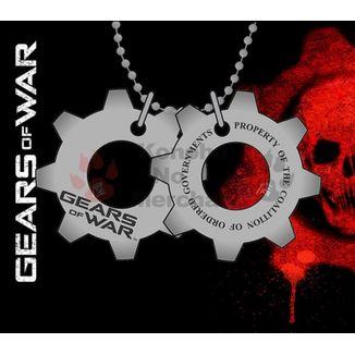 Colgante Gears of War - Chapas de identificación