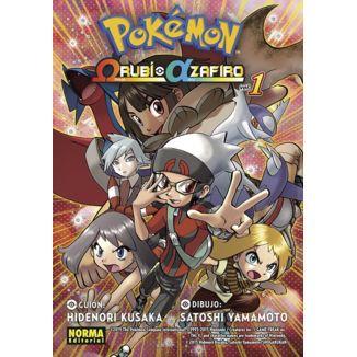 Pokémon Omega Rubí Alfa Zafiro #01 Manga Oficial Norma Editorial