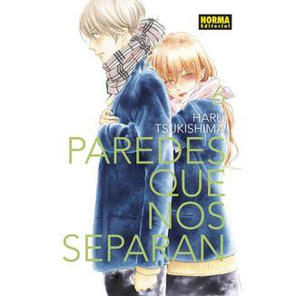 Paredes Que Nos Separan #06 Manga Oficial Norma Editorial (spanish)