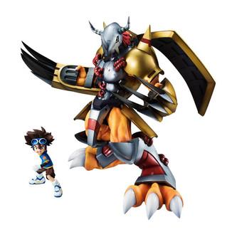 Figura Digimon Adventure Wargreymon & Taichi G.E.M.