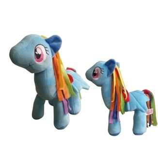 Peluche My Little Pony - Rainbow Dash