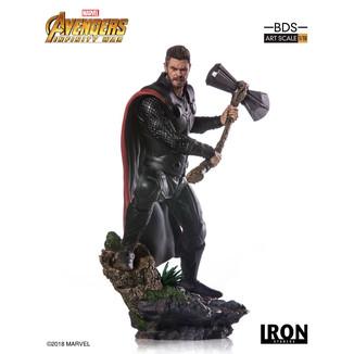 Estatua Thor BDS Art Vengadores Infinity War