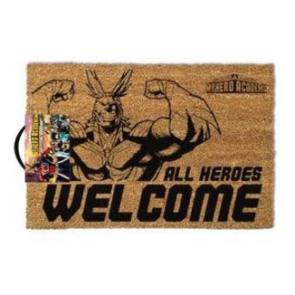 All Heroes Welcome Doormat My Hero Academia