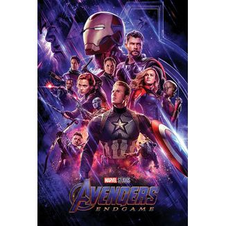 Journey's End Avengers: Endgame Poster Marvel Comics