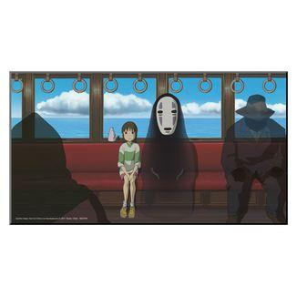 Póster de Madera  El Viaje de Chihiro Studio Ghibli