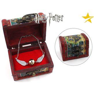 Pulsera Snitch Harry Potter en cofre regalo