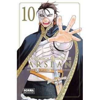 La Heroica Leyenda de Arslan #10 Manga Oficial Norma Editorial