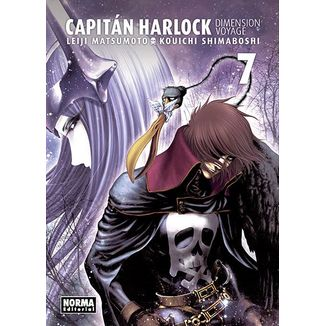 Capitán Harlock Dimension Voyage #07 (Spanish) Manga Oficial Norma Editorial