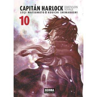 Capitan Harlock Dimension Voyage #10 Manga Oficial Norma Editorial