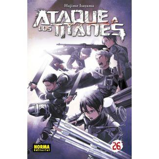 Ataque a los Titanes #26 (spanish)