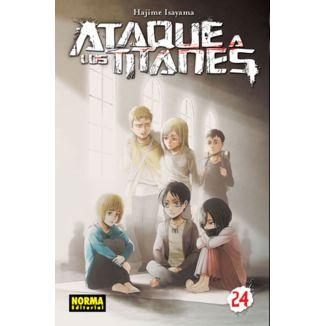 Ataque a los Titanes #24 (spanish) Manga Oficial Norma Editorial