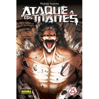 Ataque a los Titanes #25