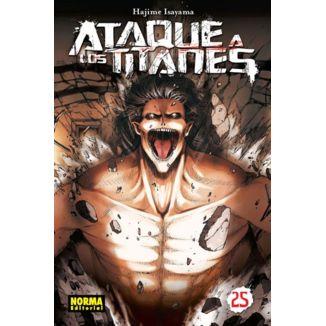 Ataque a los Titanes #25 (spanish) Manga Oficial Norma Editorial