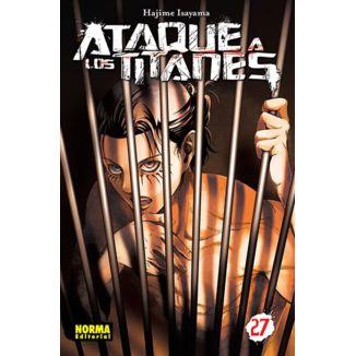 Ataque a los Titanes #27 Manga Oficial Norma Editorial