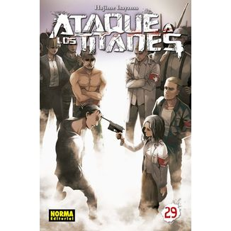 Ataque a los Titanes #29 Manga Oficial Norma Editorial