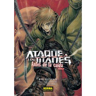 Ataque a los Titanes Antes de la Caída Novela (spanish)